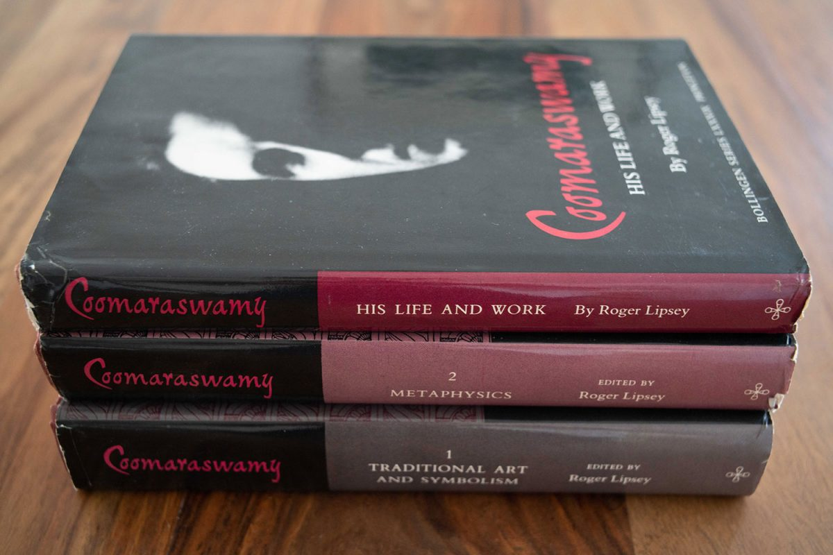 Coomaraswamy trilogy by Roger Lipsey